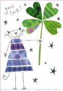 Good Luck Card - 4 Leaf Clover